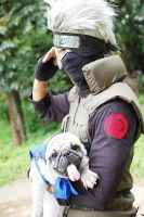 Kakashi Hatake Cosplay by greatestsensei