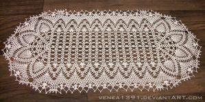 Crochet Runner by venea1391
