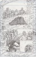 Stars 1 Page 8 Pencils by KurtBelcher1