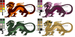Dragon Adoptables! by hyperdelirium