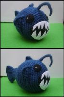 fangtooth fish by misaoorochi