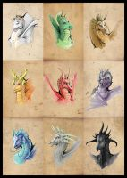 Dragon Series by CanteRvaniA