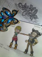 Time for sketchs and HTTYD by AnMaInKa