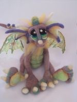 Rainbow Sherbet Dragon front by Tanglewood-Thicket