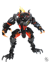 Lava Beast Tablescrap by Darkraimaster99