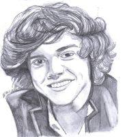 Harry Styles from One Direction by Lu-Siobhan