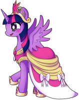 Princess Twilight Sparkle by hpuff