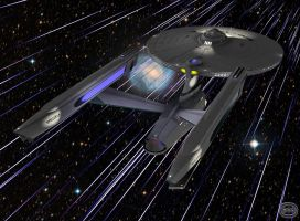 Warp Factor Five by GlenRoberson