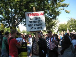 Liberals Equal Terrorism? by Popthepunk
