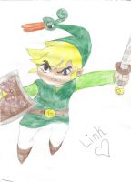 Link From The Minish Cap by suzuka11