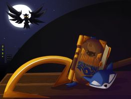 Thievius Racoonus: A Sly Cooper still life by ladyz0e