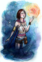 Yuna FFX-2 by Songes-et-crayons