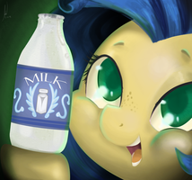 Milky Way Brand Milk-Request (KrazyKari) by Rixnane