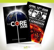 Flyer: The Core by angelaacevedo