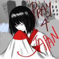 Pray 4 Japan by autome