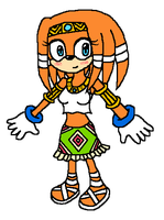 Tikal the Echidna by airbornewife71