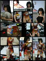 In Progress: Naotora Ii from Samurai Warriors 4 by gale015