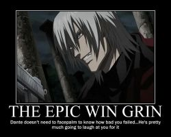 Anime Dante Demotivational by IceyTHORlover432