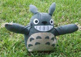 Totoro Plush by Ailin34