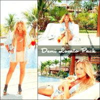 Photoshoot Demi Lovato Pack by Teeffy