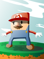 Vector Mario by PsPeet
