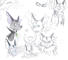 Nightshade doodles by Phoelion