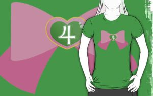 Sailor Jupiter Bow Shirt by geek-i-licious