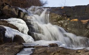 Kincaid Lake Spillway by MistressVampy