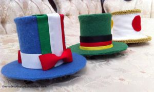 Hetalia Hats by themalletofjustice
