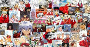 Inuyasha Collage by Kat-Lady04