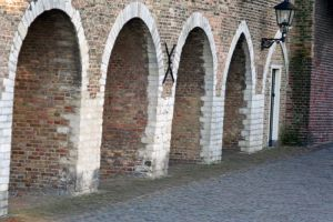 wall gates by priesteres-stock