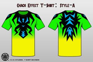 Chaos Effect T-Shirt Style A by BlackHoleInAJar