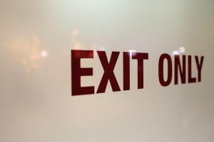 Exit Only by AwazS