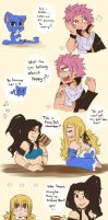 Not so wimpy anymore (NaLu) by Drawing-Heart