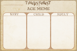 Timeless Forest - Age meme by BananaTaco