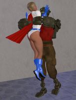 Power girl attacked 2 by cattle6