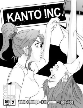 Kanto Inc 2 cover by pointzerocomics
