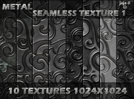 Metal seamless texture pack 1 by jojo-ojoj