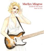 Marilyn Mingroe by kasumivy