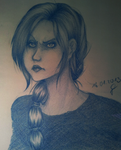 Blue of Anger by siiben