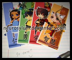 ATLA Bookmarks - Tiger Year by Neurosylum