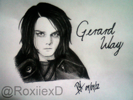 Happy Birthday Gerard Way by xMisguidedxRox
