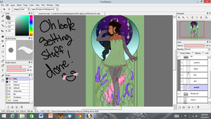 Tin, mucha style WIP by flickrBLITZshimmer