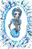 The Blue Lady by paula-the-cat