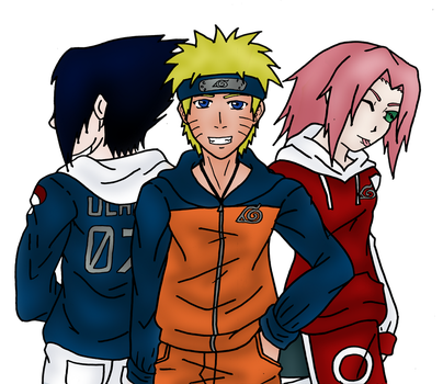 Naruto- Team Seven by Heartless-Gone-Wild
