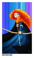 Brave: Merida by nirman