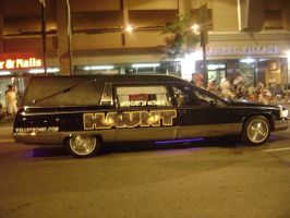 Hearse on Parade by LittleBigDave