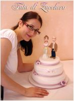 Me and the cake... by Dyda81