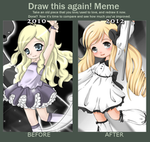 Draw This Again Meme by Cupkik