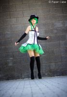 GUMI - Vocaloid - Just a Game by Paper-Cube